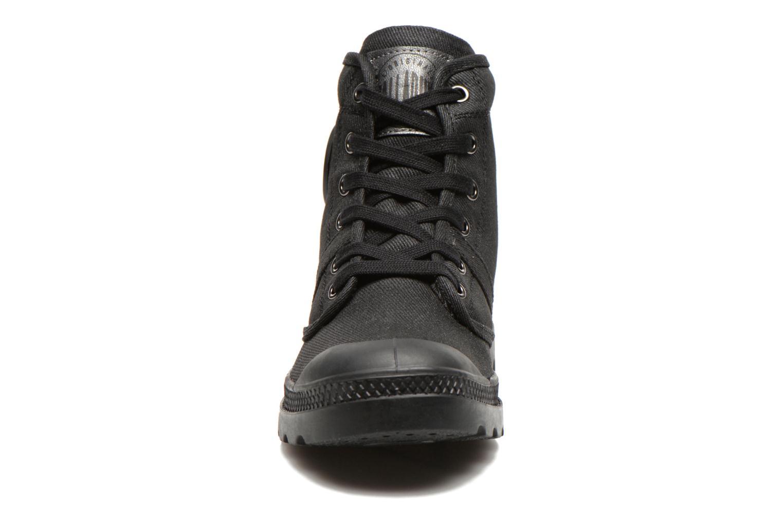 Sneaker Palladium Hi Kansas F schwarz schuhe getragen