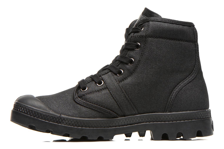 Sneaker Palladium Hi Kansas F schwarz ansicht von vorne