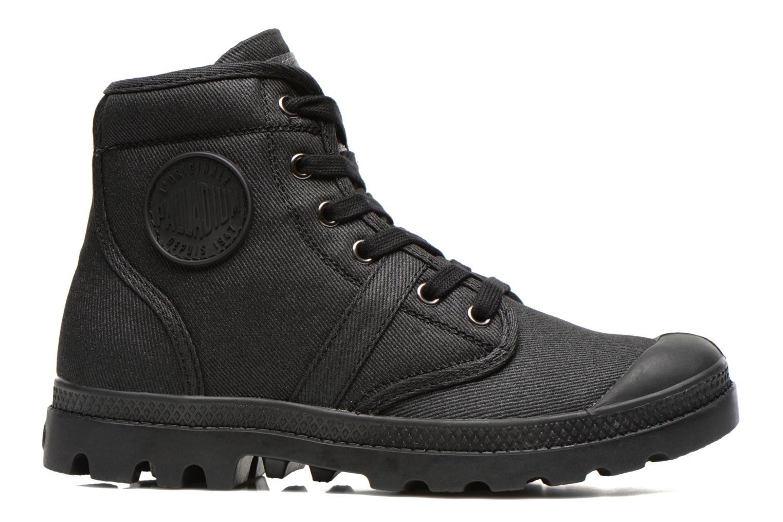Sneaker Palladium Hi Kansas F schwarz ansicht von hinten