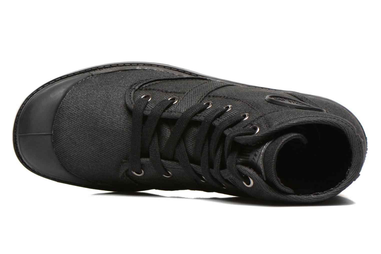 Sneaker Palladium Hi Kansas F schwarz ansicht von links