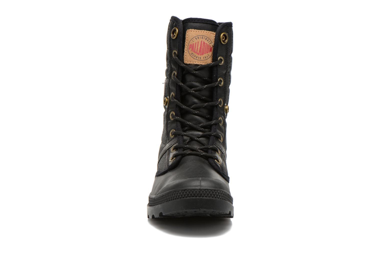 Baskets Palladium Baggy Exp Rnl U Noir vue portées chaussures