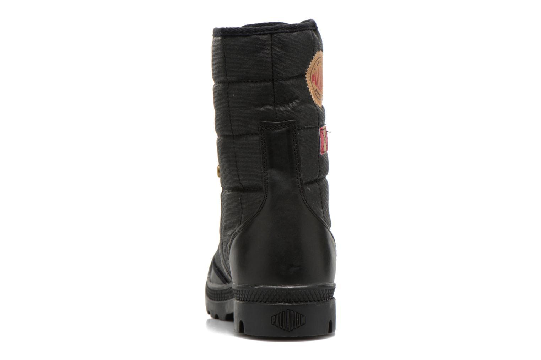 Sneaker Palladium Baggy Exp Rnl U schwarz ansicht von rechts