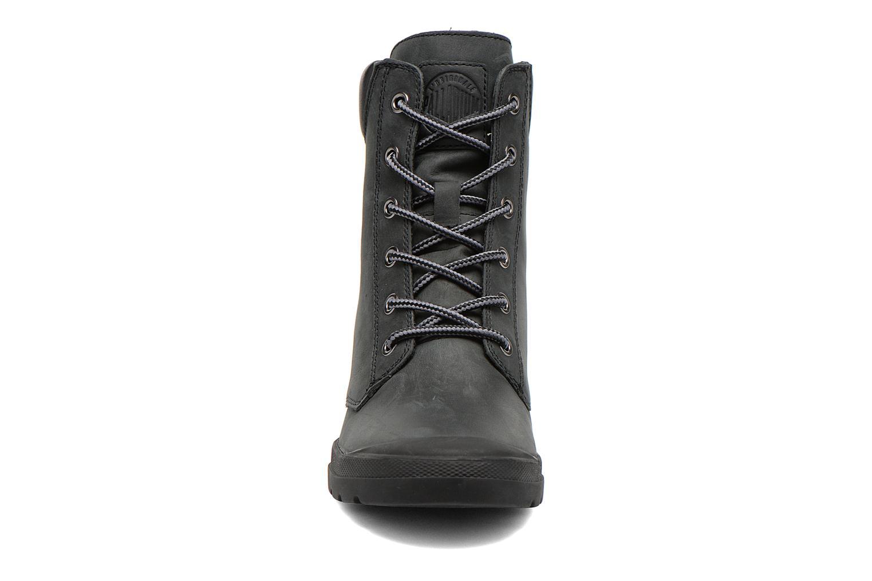 Bottines et boots Palladium Esmeraldas CSR Noir vue portées chaussures