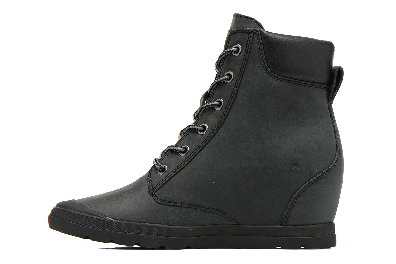 Bottines et boots Palladium Esmeraldas CSR Noir vue face