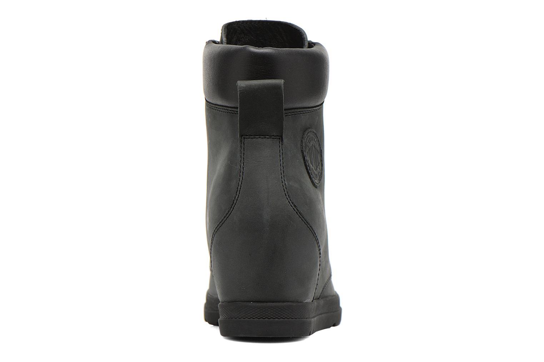 Bottines et boots Palladium Esmeraldas CSR Noir vue droite