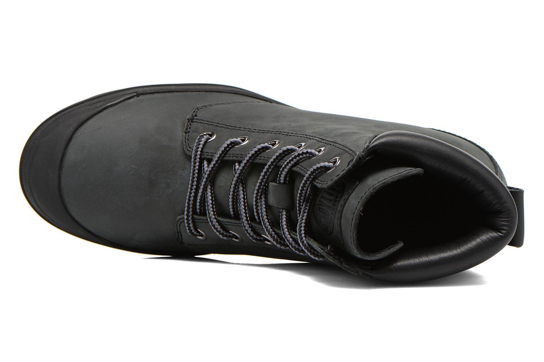 Bottines et boots Palladium Esmeraldas CSR Noir vue gauche