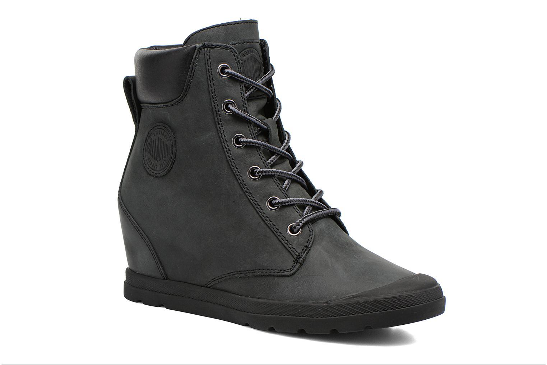 Bottines et boots Palladium Esmeraldas CSR Noir vue détail/paire