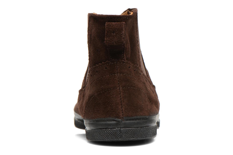Boots en enkellaarsjes Bensimon Boot Chelsea Bruin rechts