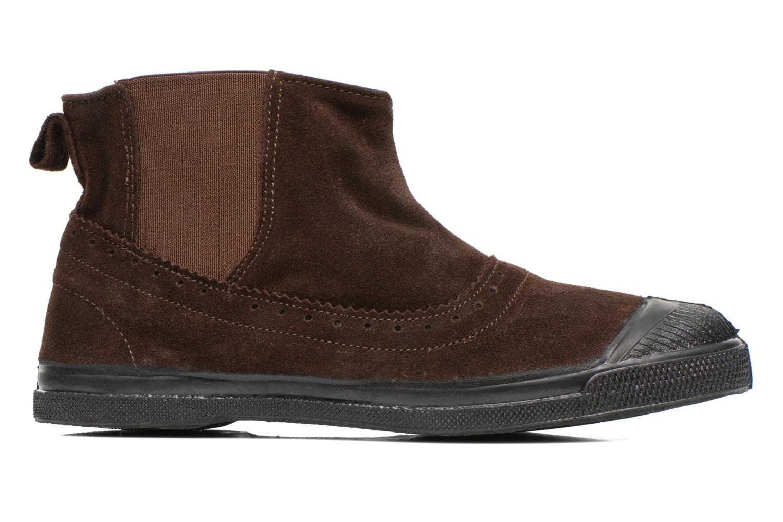 Boots en enkellaarsjes Bensimon Boot Chelsea Bruin achterkant