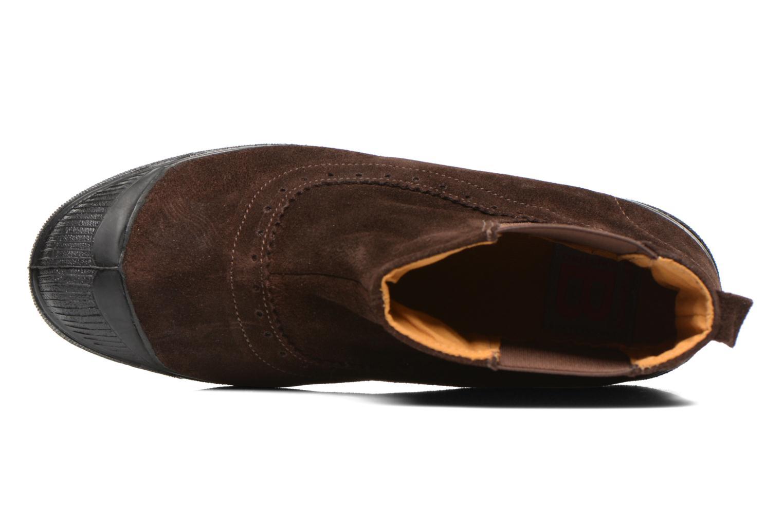 Boots en enkellaarsjes Bensimon Boot Chelsea Bruin links