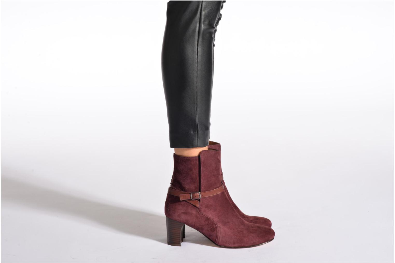 Stiefeletten & Boots Bensimon Boots Talons Brides braun ansicht von unten / tasche getragen