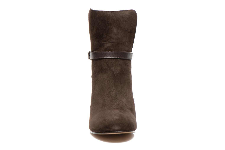 Stiefeletten & Boots Bensimon Boots Talons Brides braun schuhe getragen