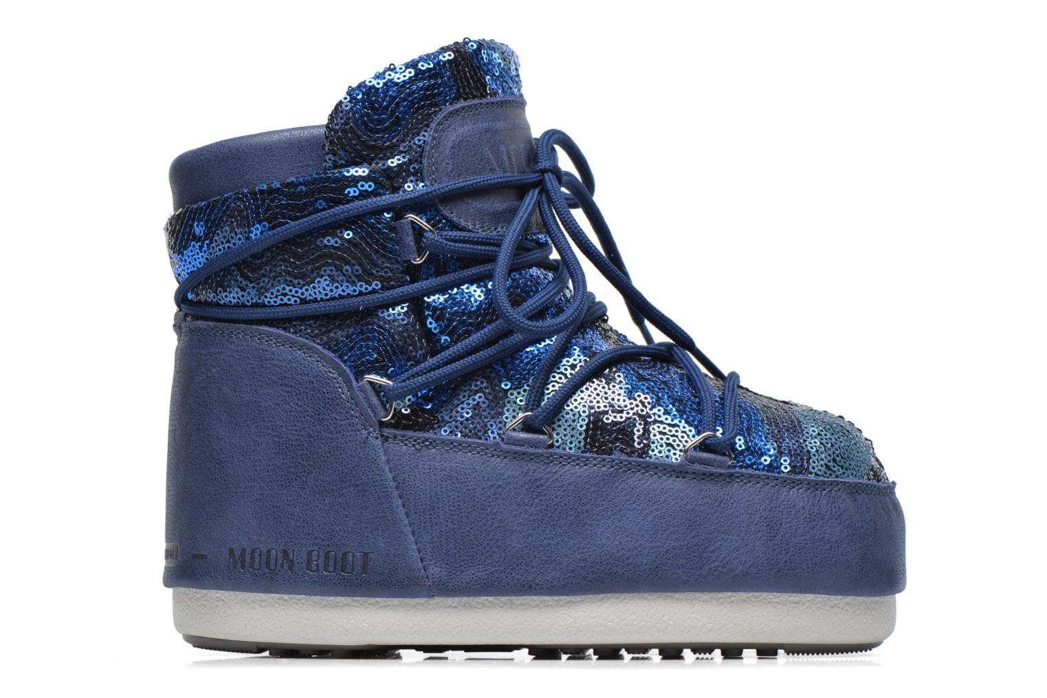 Ankle boots Moon Boot Buzz Paillettes Blue back view