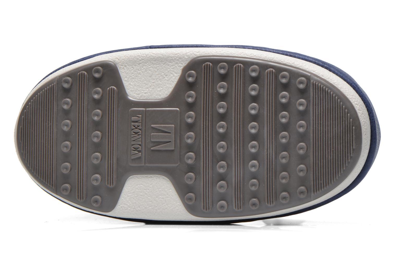 Bottines et boots Moon Boot Buzz Paillettes Bleu vue haut