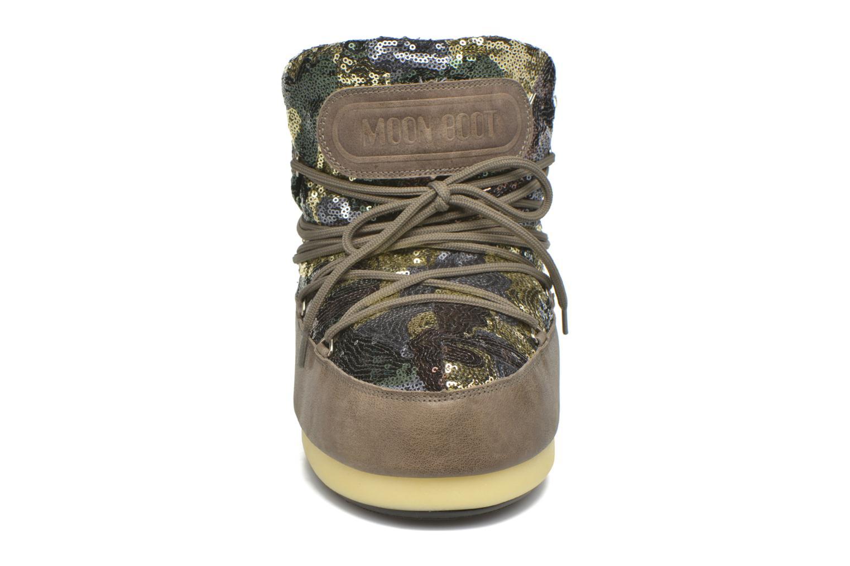 Bottines et boots Moon Boot Buzz Paillettes Vert vue portées chaussures