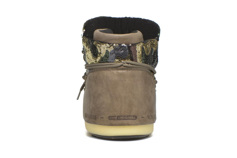 Bottines et boots Moon Boot Buzz Paillettes Vert vue droite