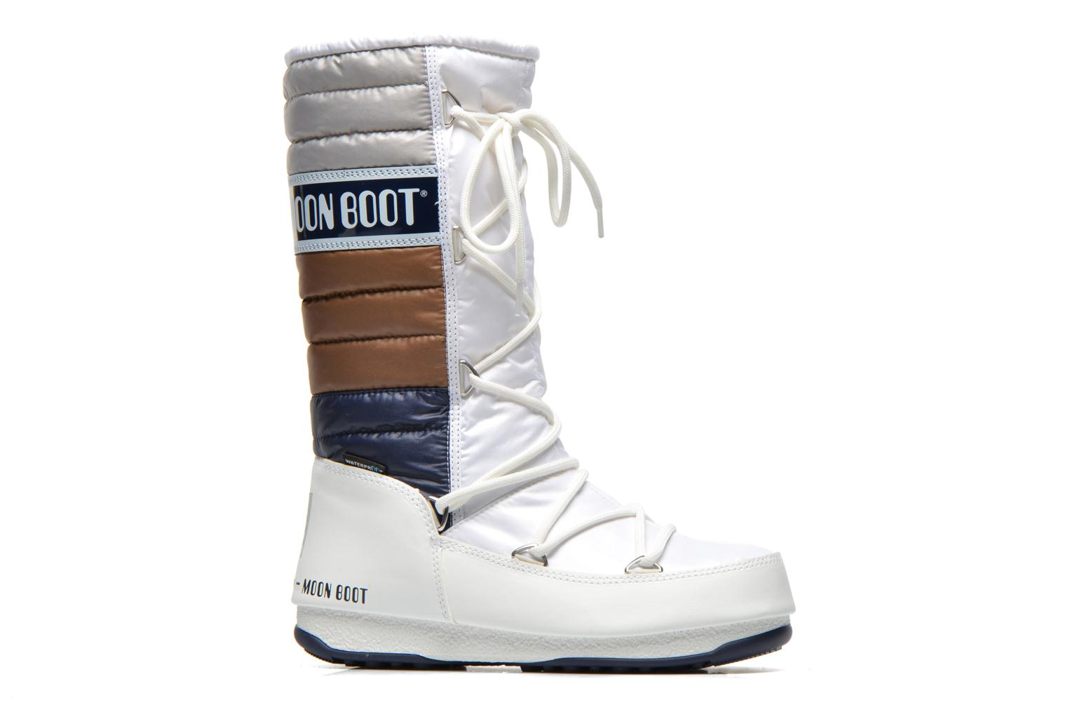 Ankle boots Moon Boot Quilted White back view