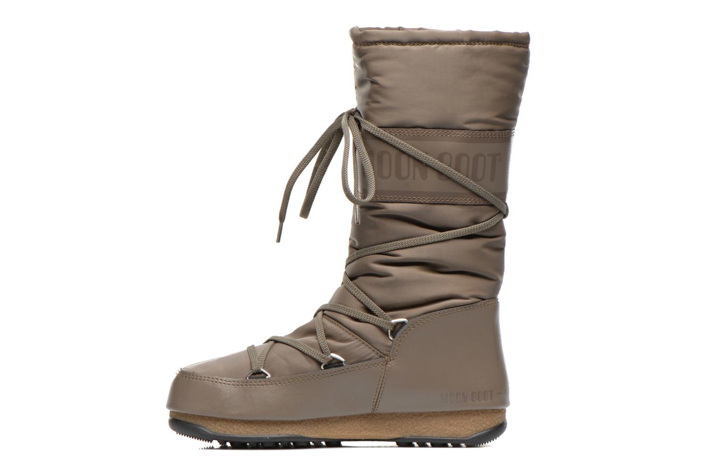 Chaussures de sport Moon Boot Soft Shade Marron vue face