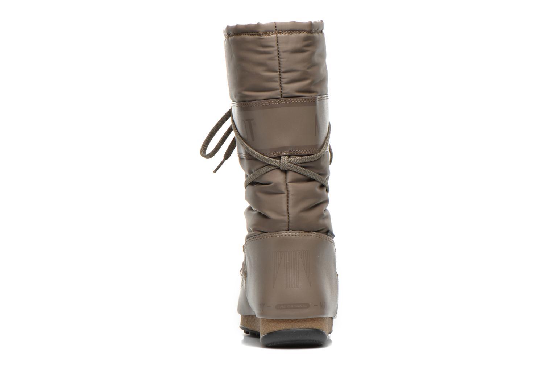 Chaussures de sport Moon Boot We Soft Shade Marron vue droite