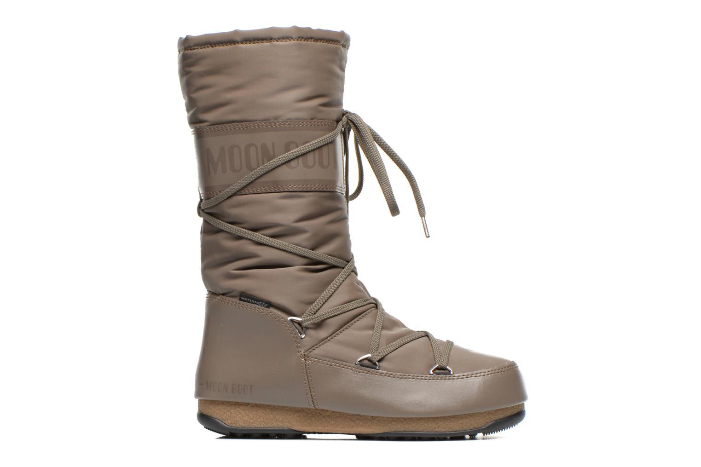 Chaussures de sport Moon Boot We Soft Shade Marron vue derrière