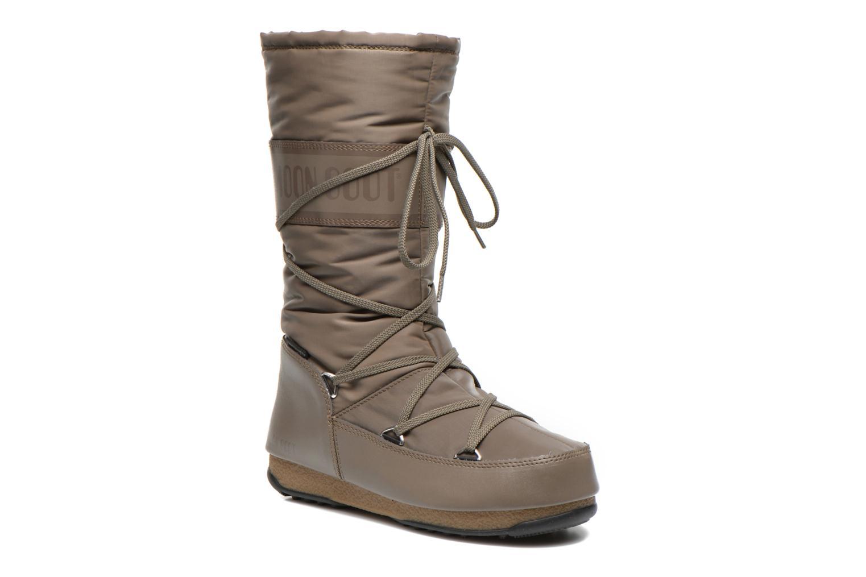Chaussures de sport Moon Boot Soft Shade Marron vue détail/paire