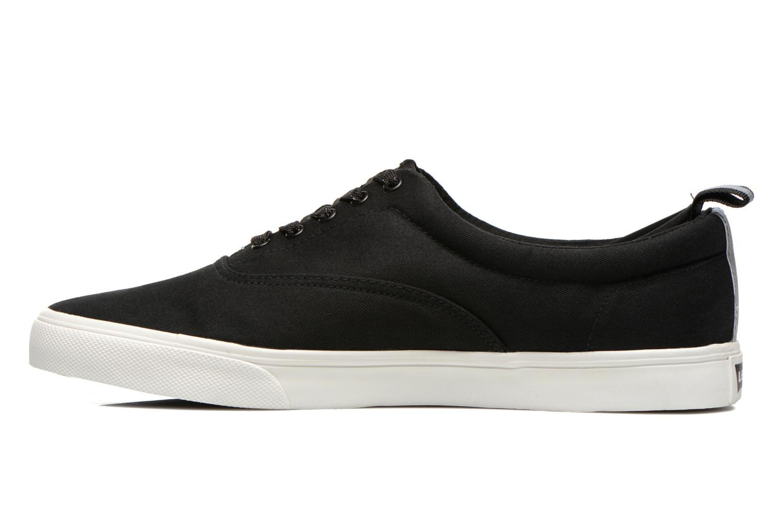 Sneaker Levi's Commuter Low Lace schwarz ansicht von vorne