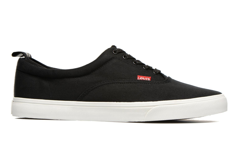 Sneaker Levi's Commuter Low Lace schwarz ansicht von hinten
