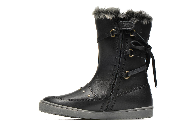 Boots en enkellaarsjes Noël Junon Ch Zwart voorkant