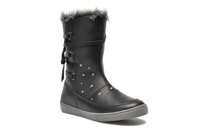 Boots en enkellaarsjes Noël Junon Ch Zwart detail