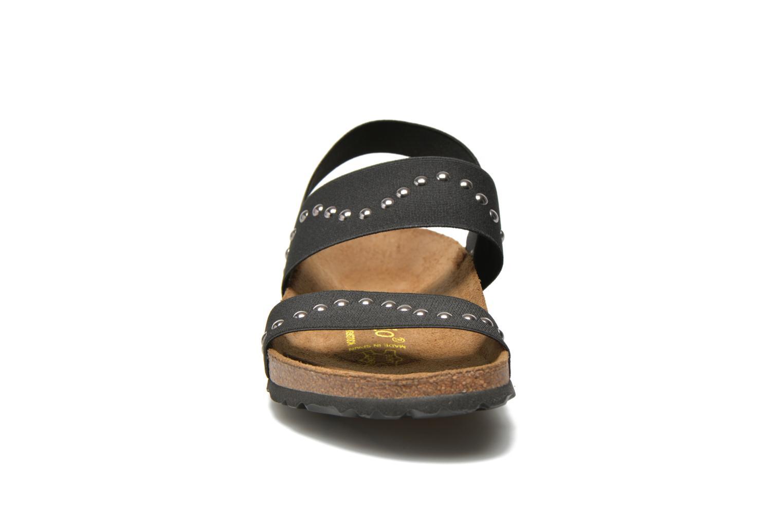 Sandalen Papillio Caterina Stretch W schwarz schuhe getragen