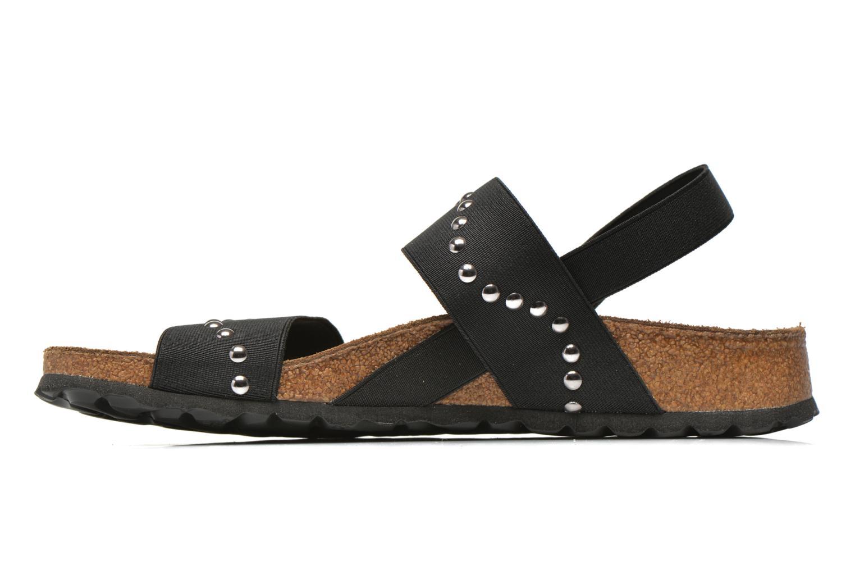Sandales et nu-pieds Papillio Caterina Stretch W Noir vue face