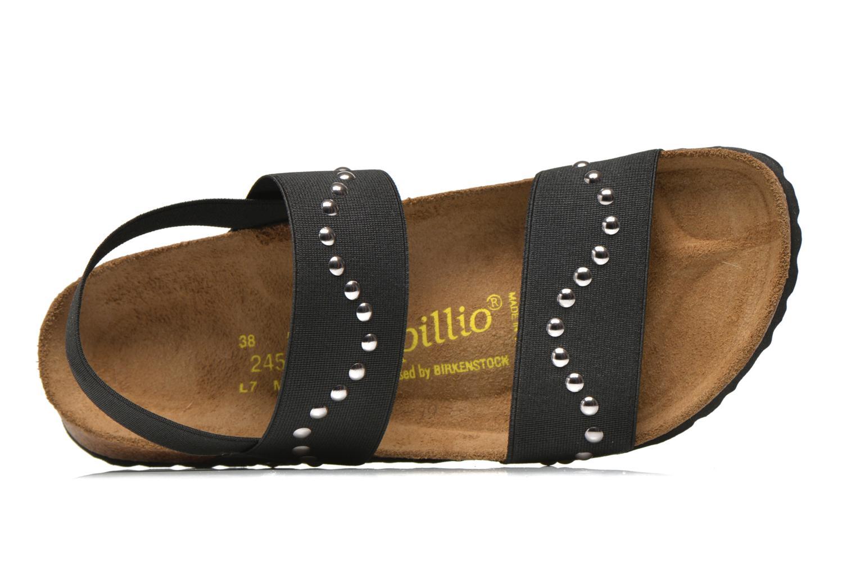 Sandales et nu-pieds Papillio Caterina Stretch W Noir vue gauche