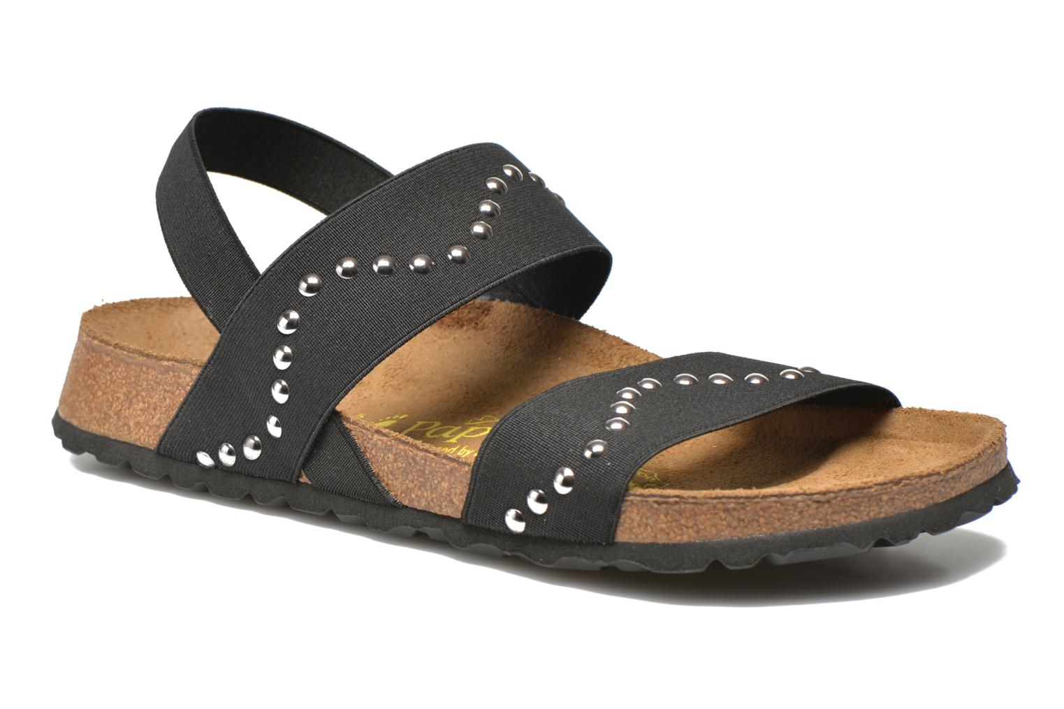 Sandals Papillio Caterina Stretch W Black detailed view/ Pair view