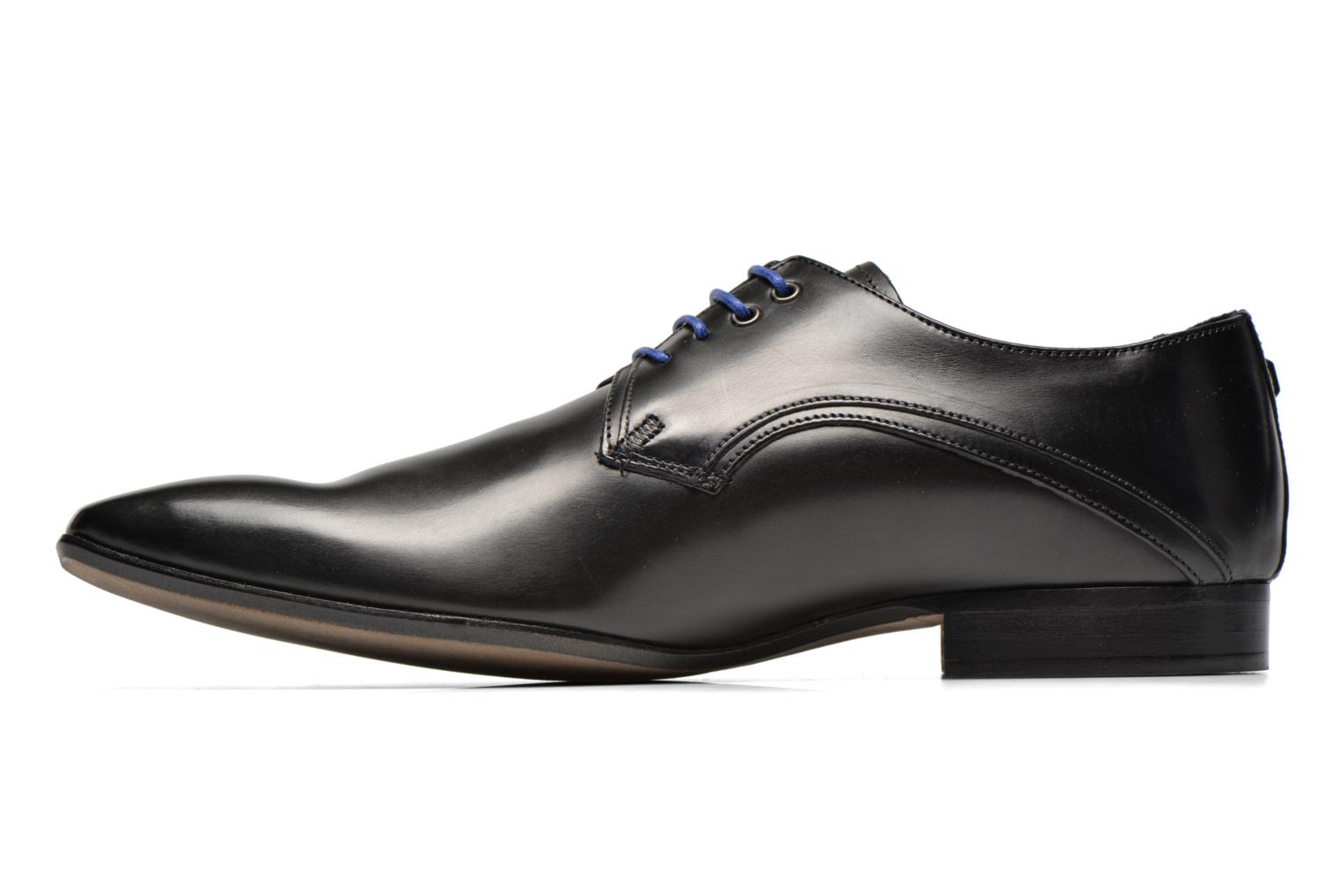 Lace-up shoes Azzaro Alozan Black front view