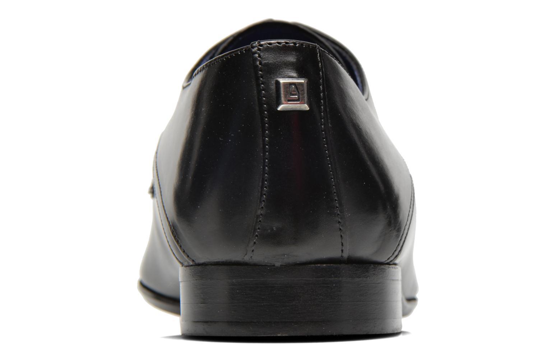 Zapatos con cordones Azzaro Alozan Negro vista lateral derecha