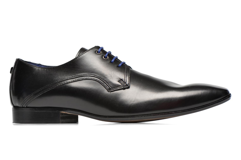 Chaussures à lacets Azzaro Alozan Noir vue derrière