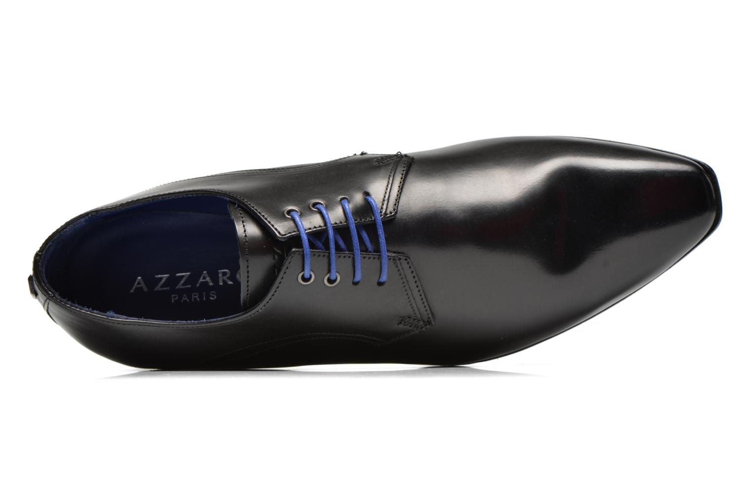 Lace-up shoes Azzaro Alozan Black view from the left