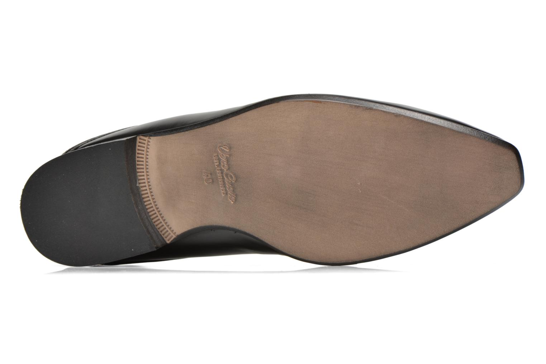 Zapatos con cordones Azzaro Alozan Negro vista de arriba