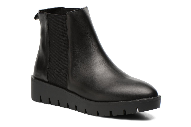 Boots en enkellaarsjes Aldo EVORA Zwart detail
