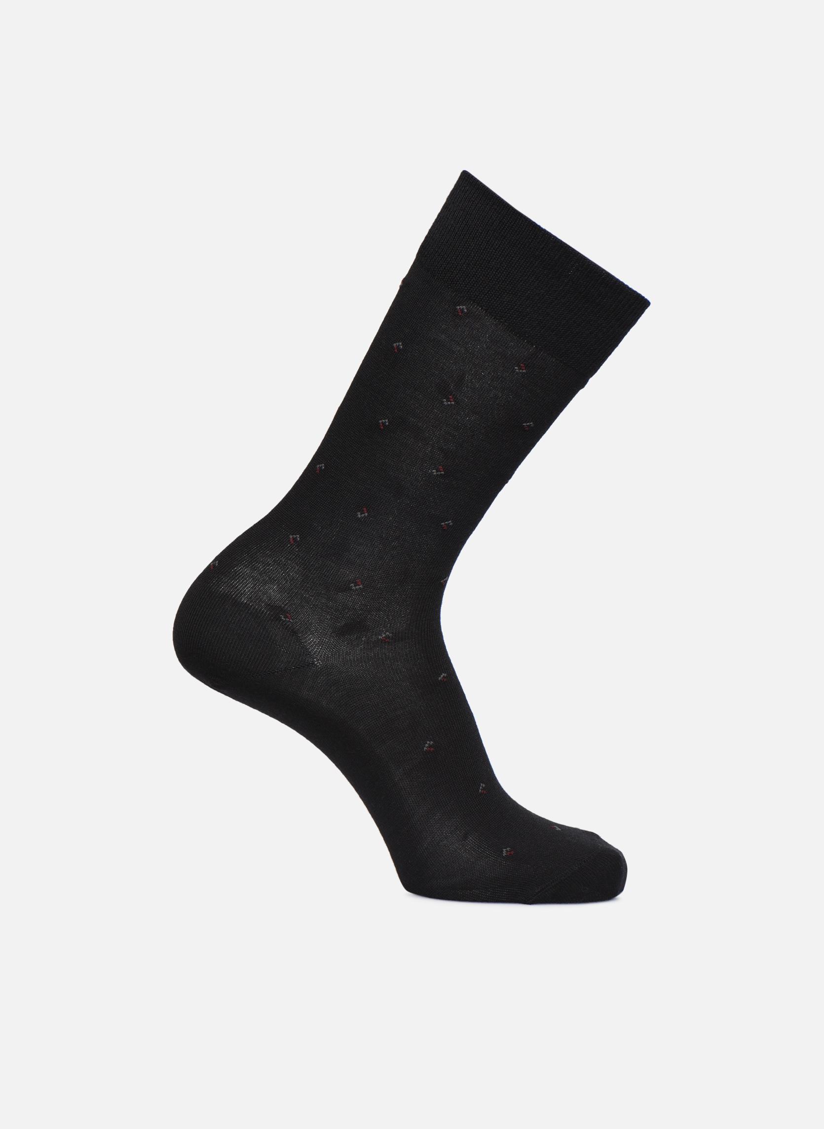 Chaussettes Losanges Noir