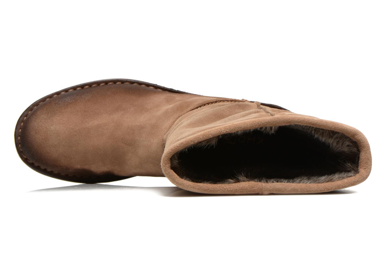 Stiefeletten & Boots Khrio Jacas beige ansicht von links