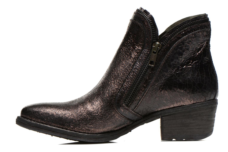 Bottines et boots Khrio Jamin Noir vue face