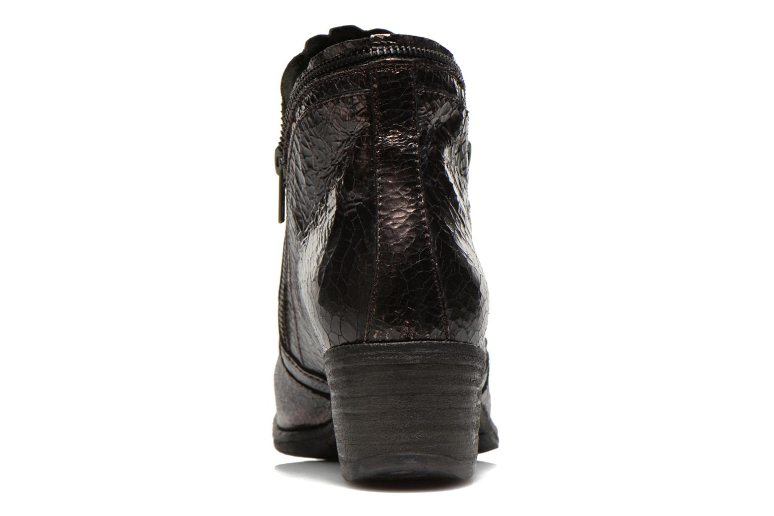 Ankle boots Khrio Jamin Black view from the right