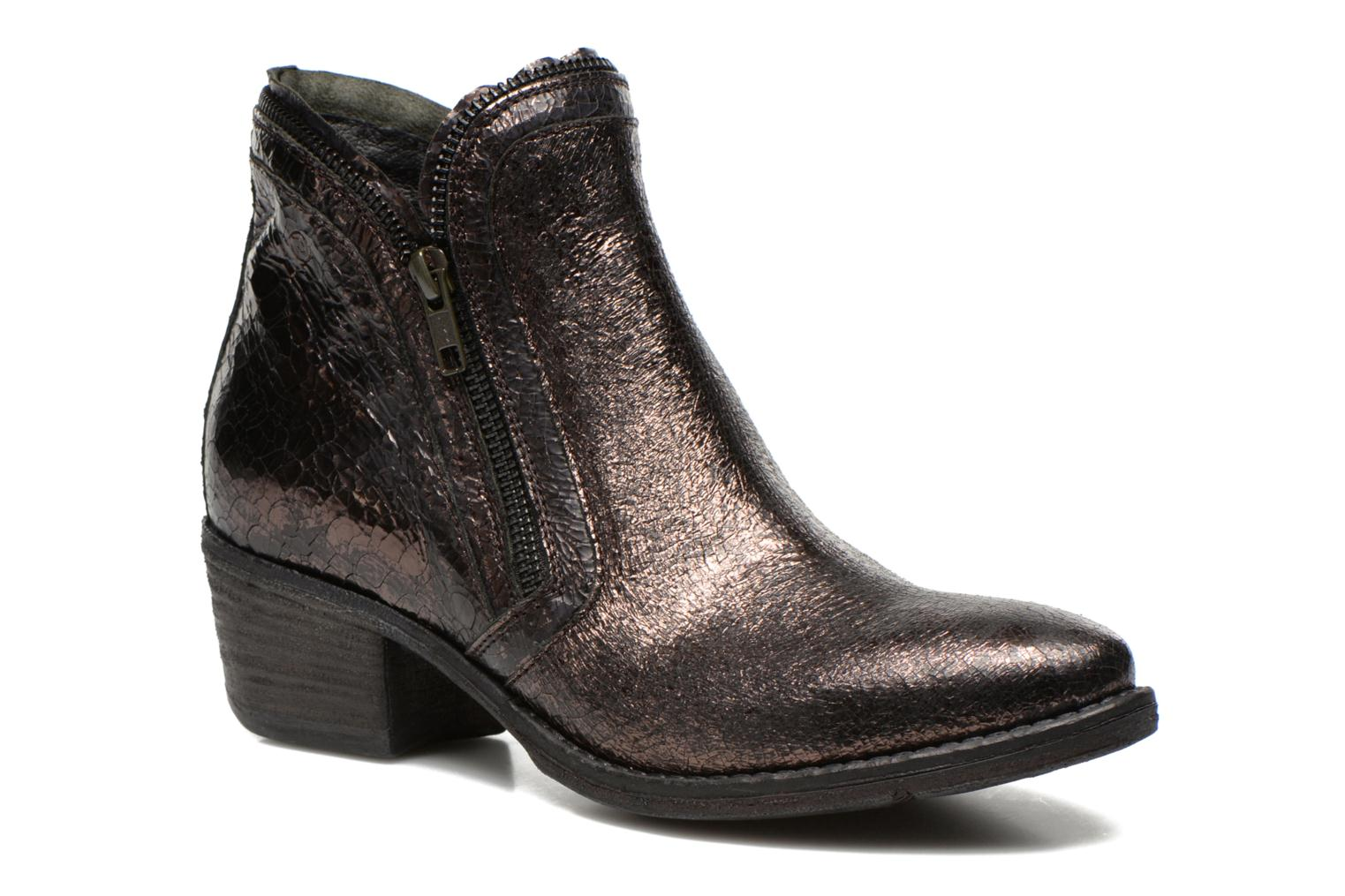 Ankle boots Khrio Jamin Black detailed view/ Pair view