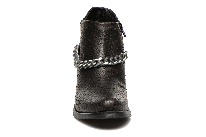 Bottines et boots Khrio Pito Noir vue portées chaussures