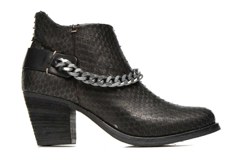 Bottines et boots Khrio Pito Noir vue derrière