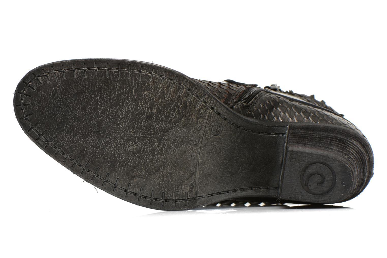 Bottines et boots Khrio Pito Noir vue haut