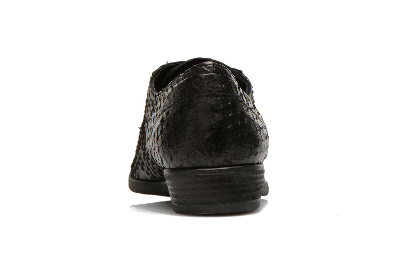 Chaussures à lacets Khrio Dosen Noir vue droite