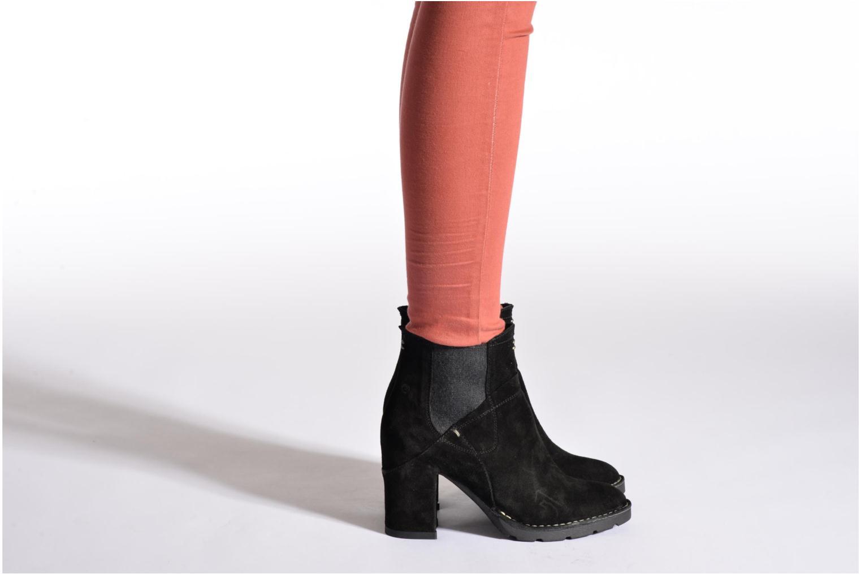 Bottines et boots Khrio Amam Noir vue bas / vue portée sac