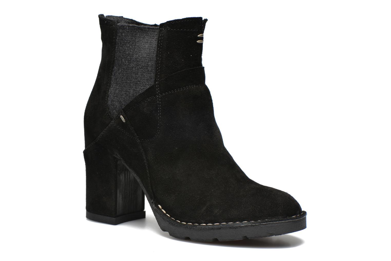 Boots en enkellaarsjes Khrio Amam Zwart detail